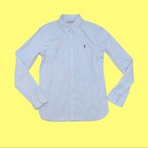 All Saints button up men's dress shirt